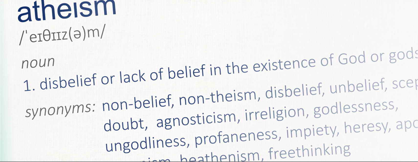 definition atheism - atheist alliance international