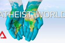 Graphic for the Atheist World blog series