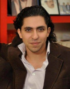 "Saudi blogger sentenced to 10 years in prison, 1,000 lashes and a fine of 1 million Saudi riyals for ""insulting Islam."""