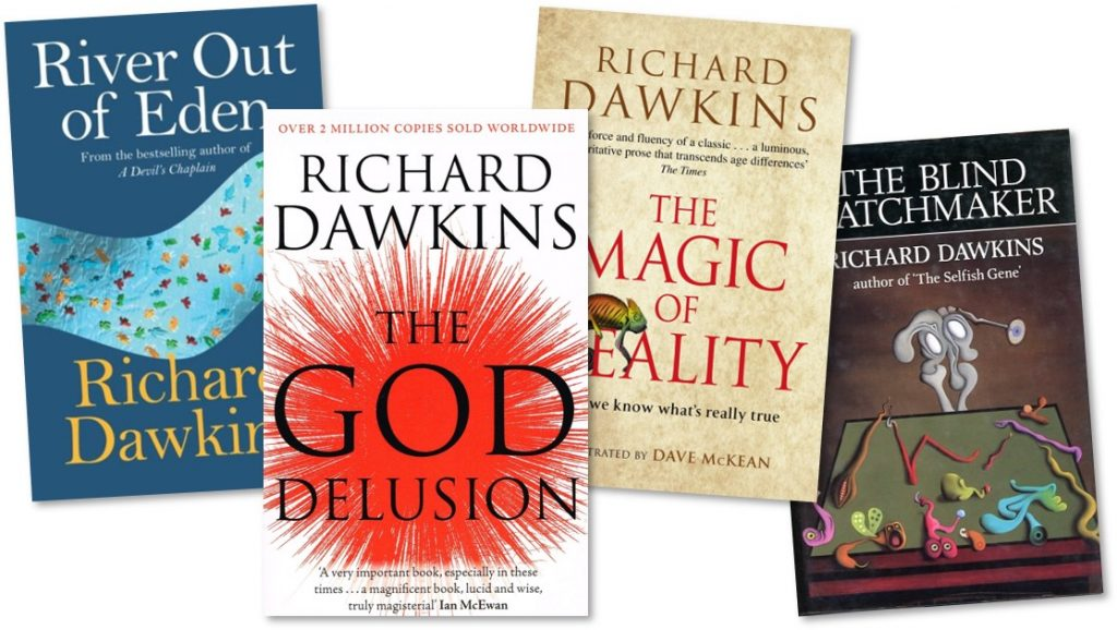 Dawkins book collage