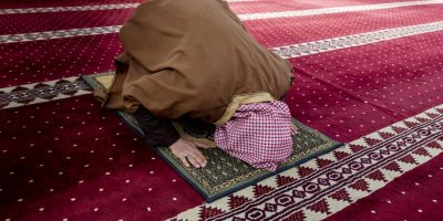 Muslim in prayer