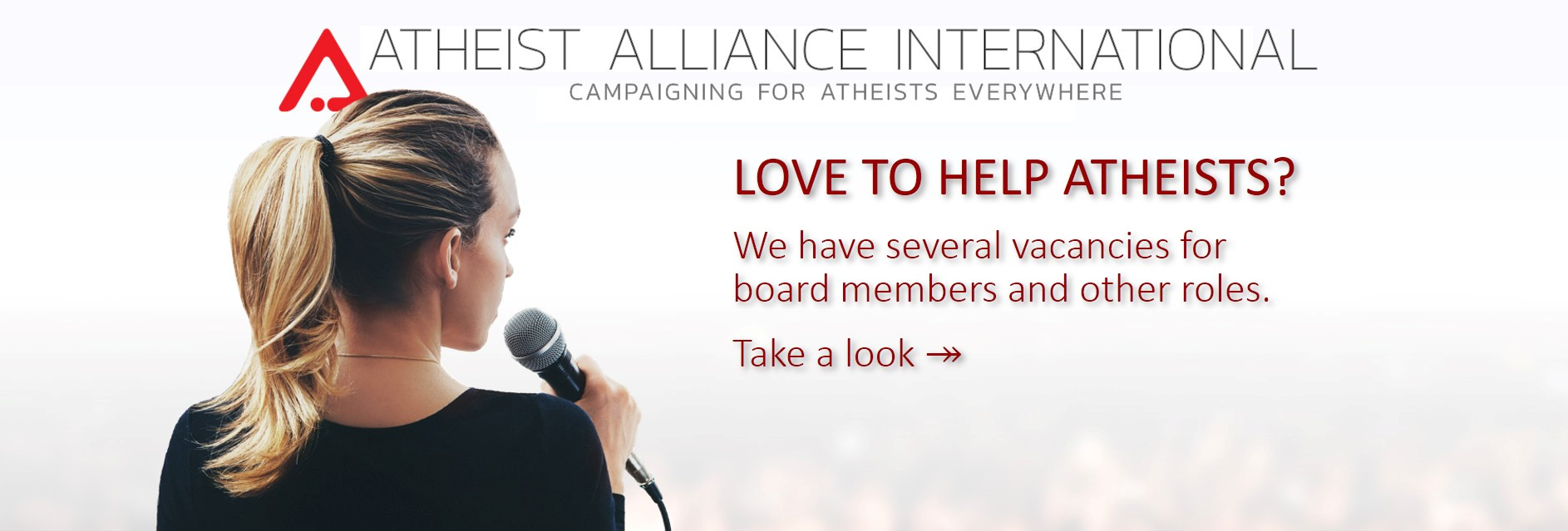 Atheist Alliance International - a positive voice for atheism and