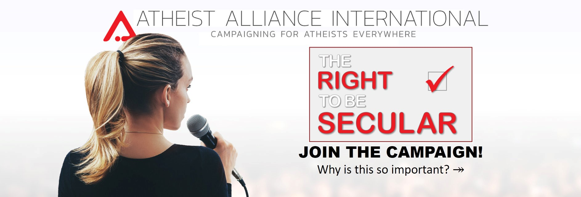 Atheist Alliance International - a positive voice for