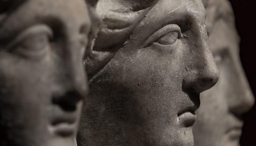 three-headed goddess