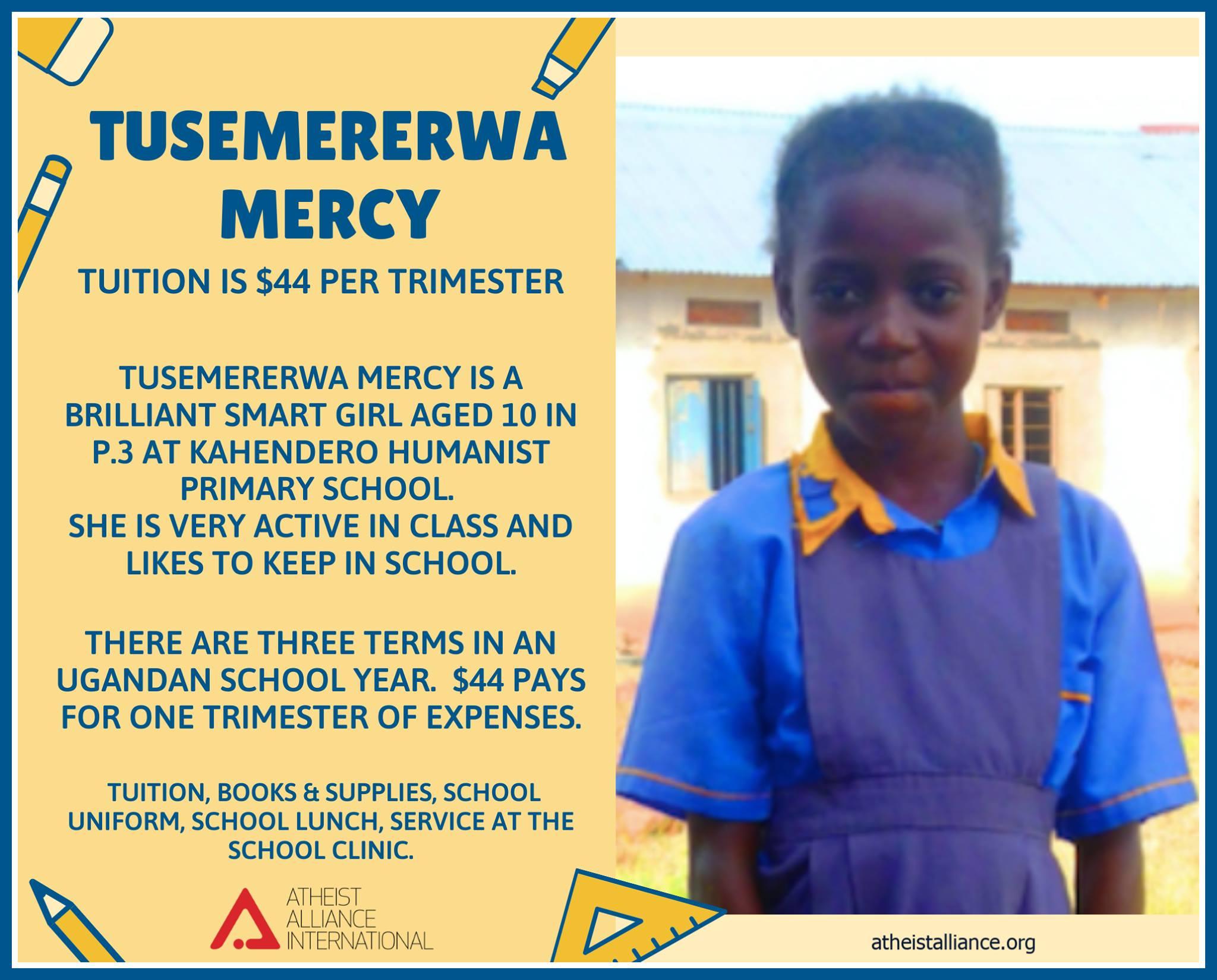 Tusemererwa Mercy
