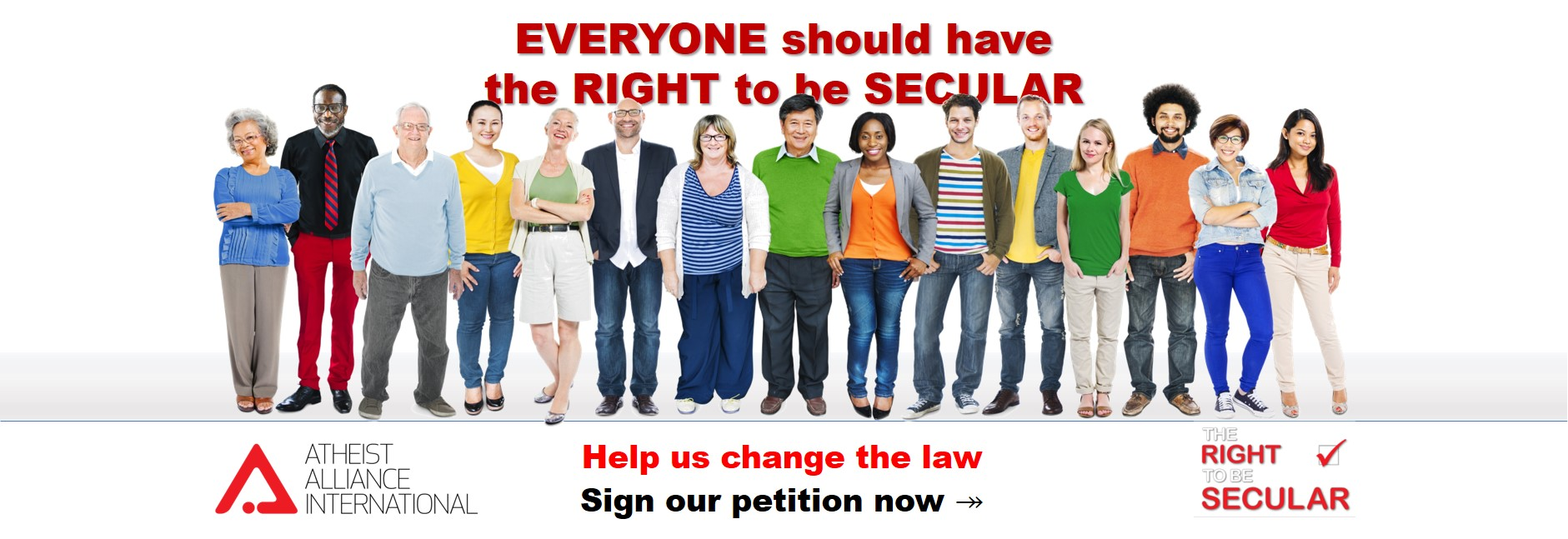 The Right to be Secular homepage graphic