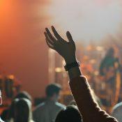 Hands raised in Prayer - Credit John Price