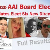 Welcome New AAI Board Members