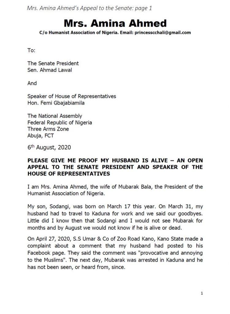 Mubarak Senate Appeal p1