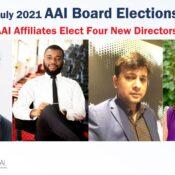 Welcome New AAI Board Members
